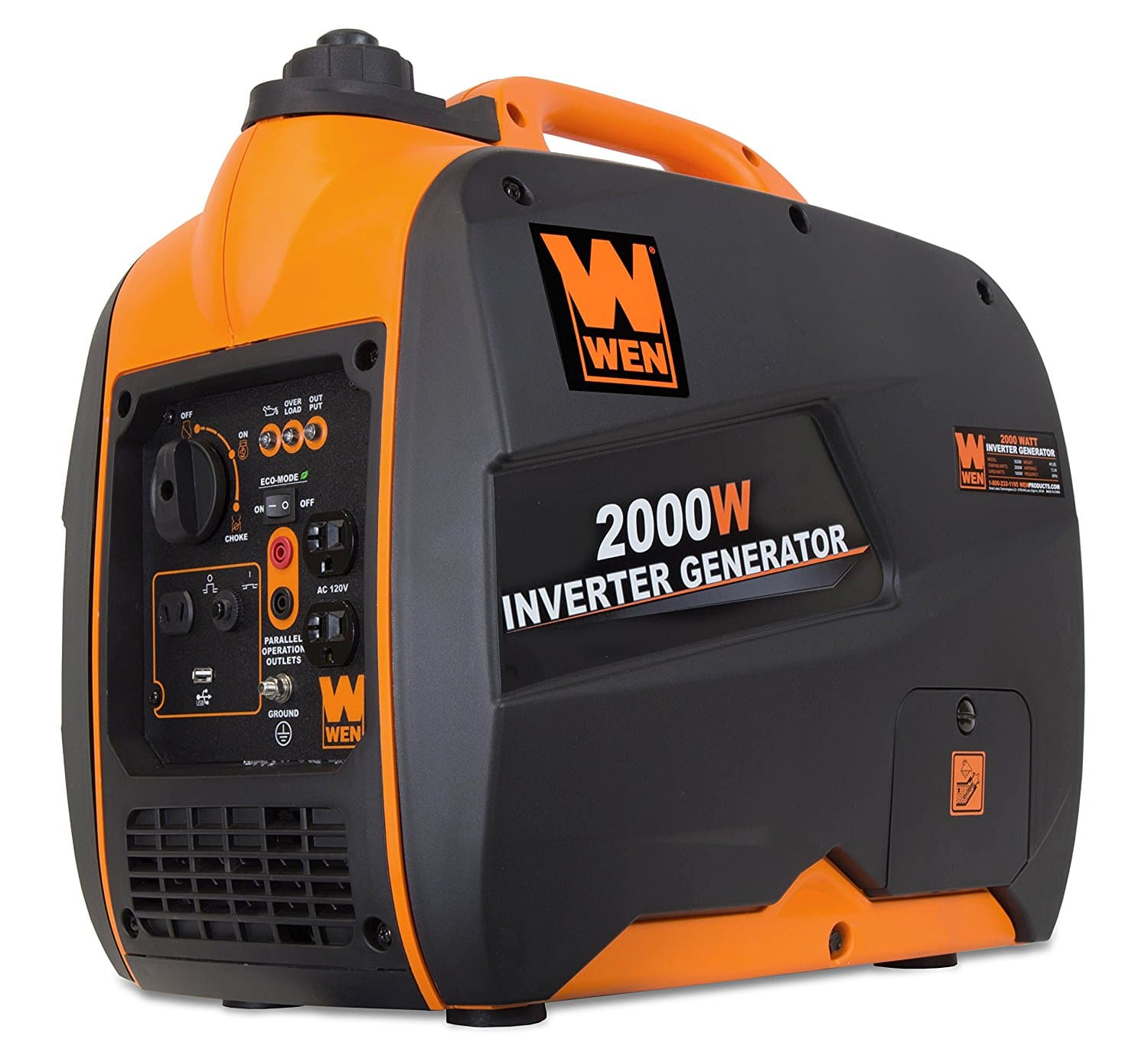 WEN 56200i 2000-Watt 4-Stroke Gas Powered Portable Inverter