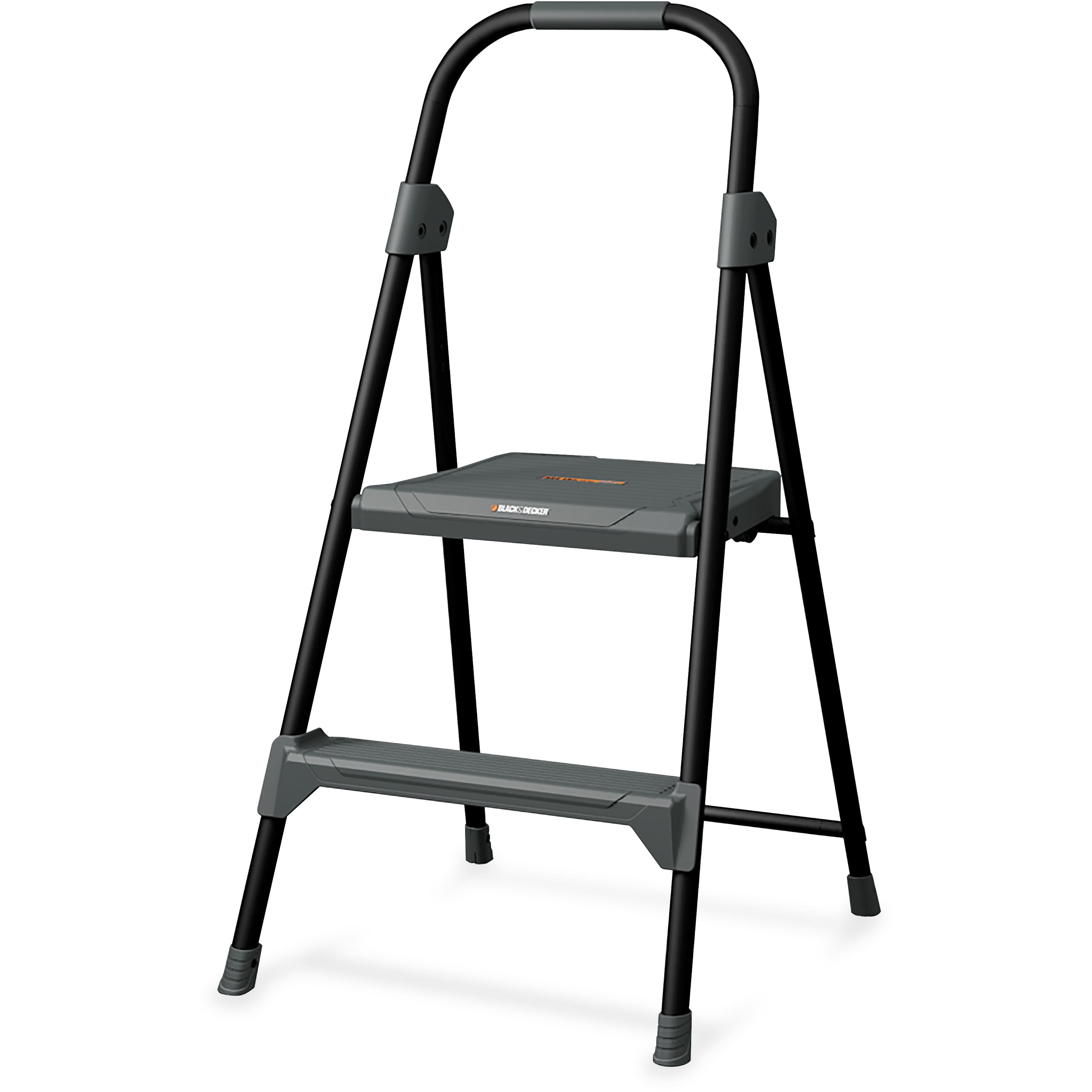 Superb Louisville 2 Steel Lightweight Domestic Step Stool 21 99 Caraccident5 Cool Chair Designs And Ideas Caraccident5Info