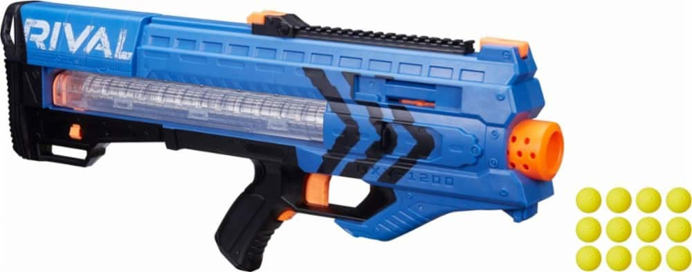 NERF Rival Zeus MXV-1200 Blaster (blue) for $19.99 at Best Buy