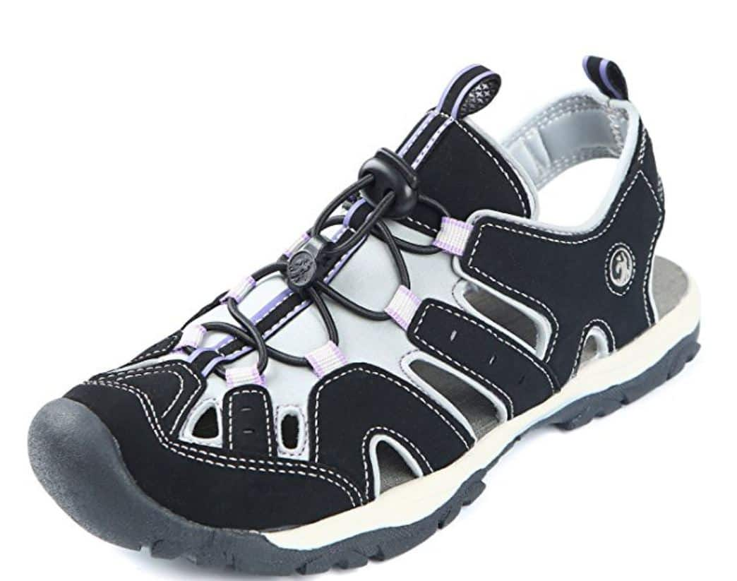 Northside Women's Burke II Sport Athletic Sandals (sizes 7, 9, 10) for $9.00 at Amazon