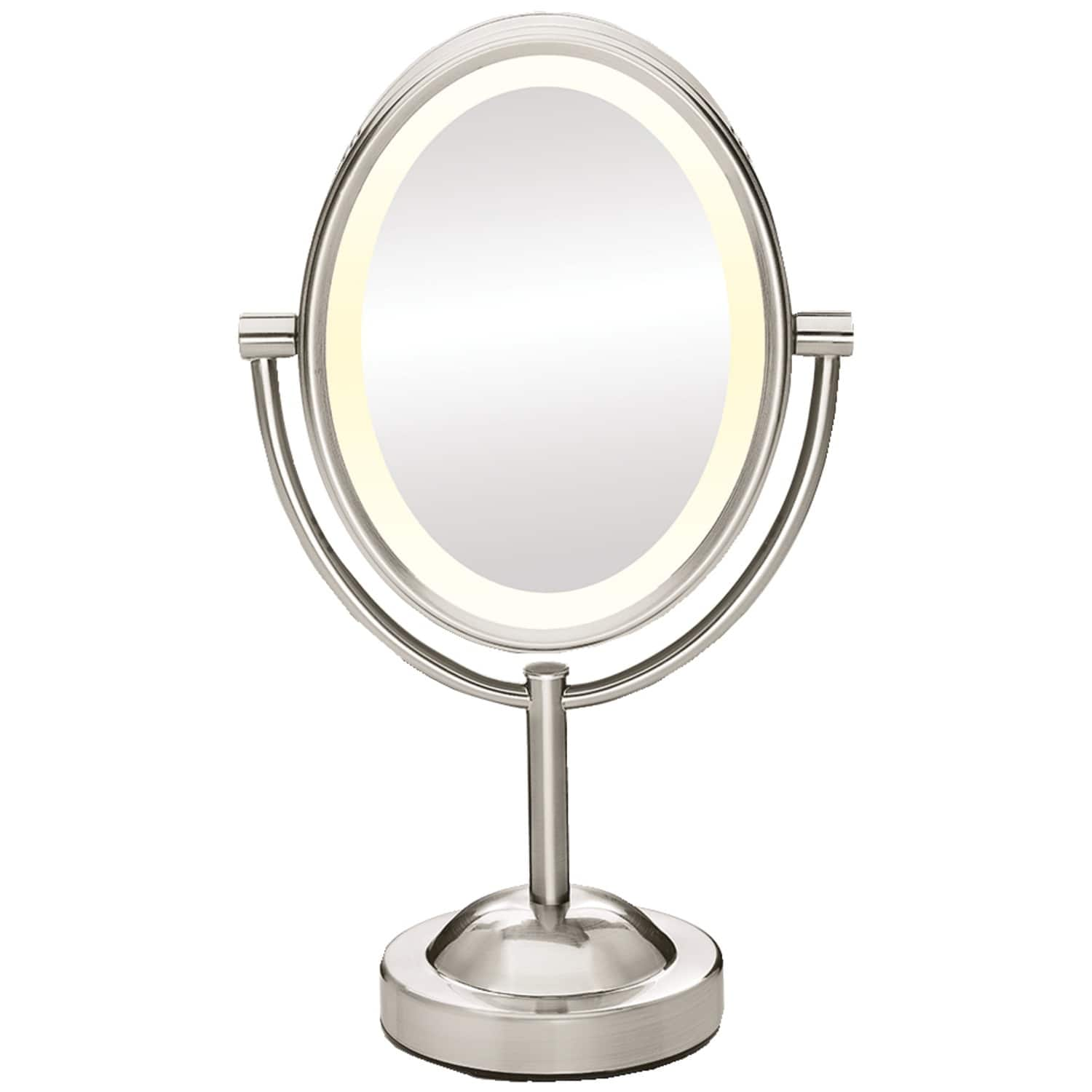Conair Double-Sided Lighted Mirror with 7x Magnification (Chrome or Nickel Finish) for $19.99 at Amazon