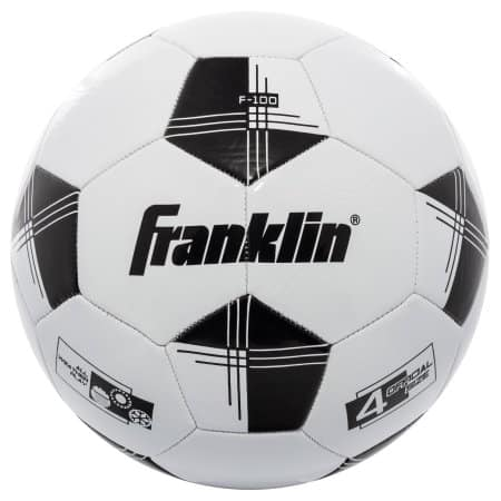 Franklin Sports Competition 100 Size 4 Soccer Ball $3.99 at Walmart or Franklin Sports Size 4 Competition Soccer Ball $2.98 at Target (pick up only)