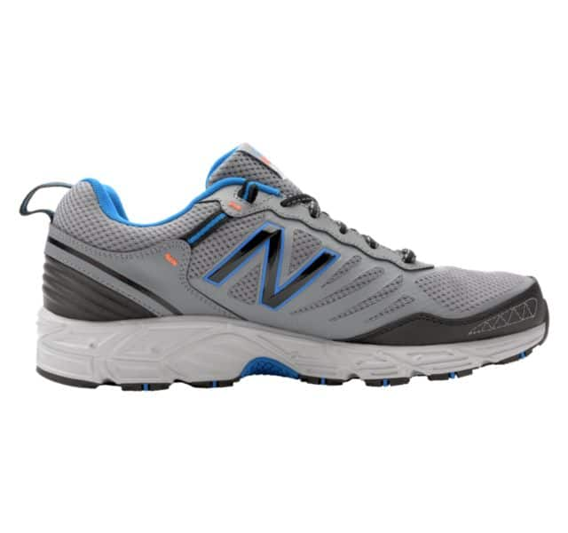 New Balance 573 Men's Trail Running Shoes, Light Grey (Regular or X-Wide) for $31.99 + $1 shipping