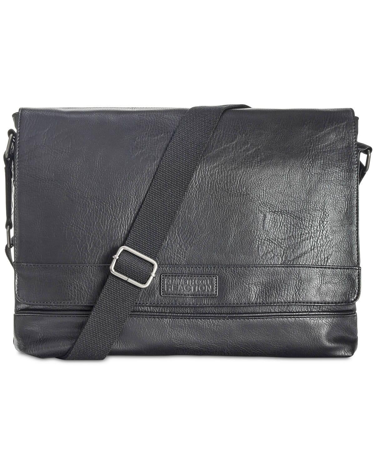 Kenneth Cole Reaction Men's Pebbled Messenger Bag $29.99 or less *or* Kenneth Cole Reaction Men's Business Case $29.99 or less at Macy's