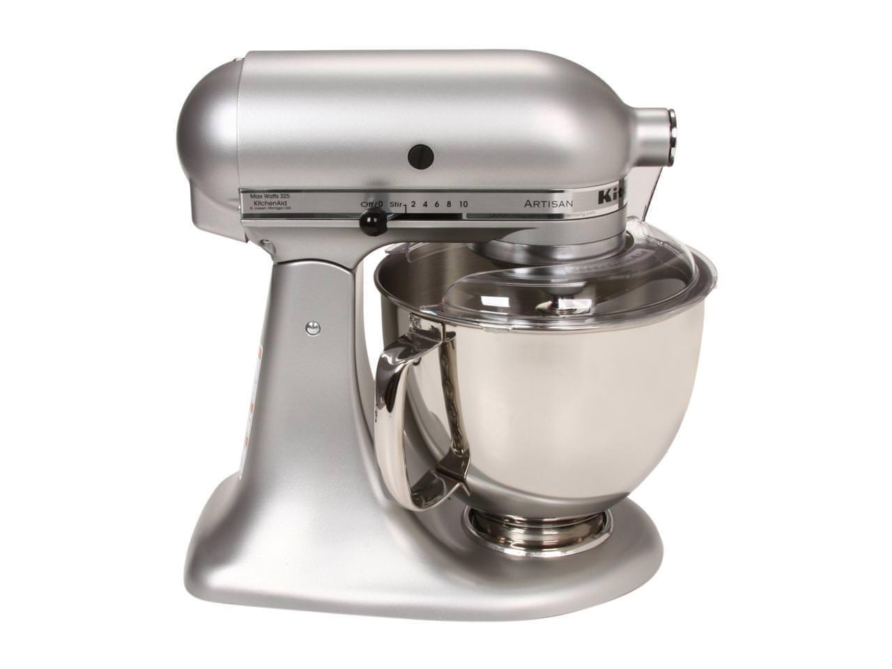 Kitchenaid 5 Quart Artisan Stand Mixer Silver Metallic