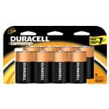 8-pack D-Cell Duracell Coppertop Batteries $7.74 Free shipping from Amazon
