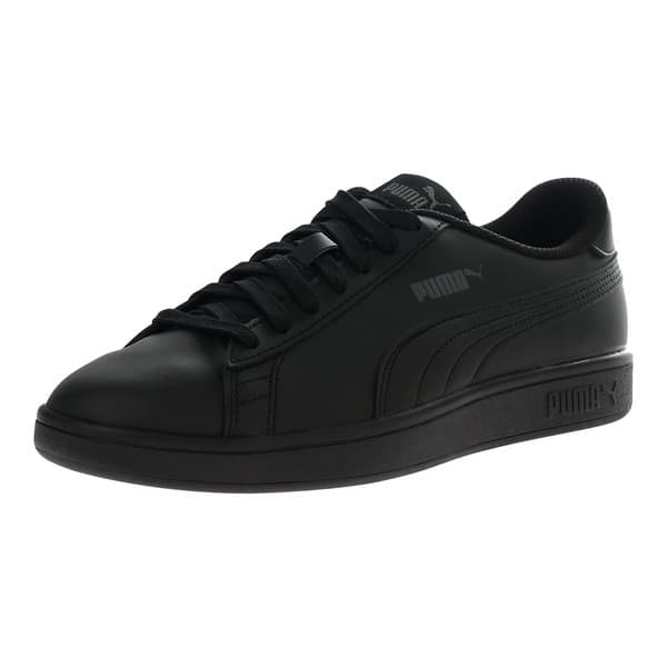 bcdd572ab223 PUMA Smash v2 Leather Sneakers (black) - Page 2 - Slickdeals.net