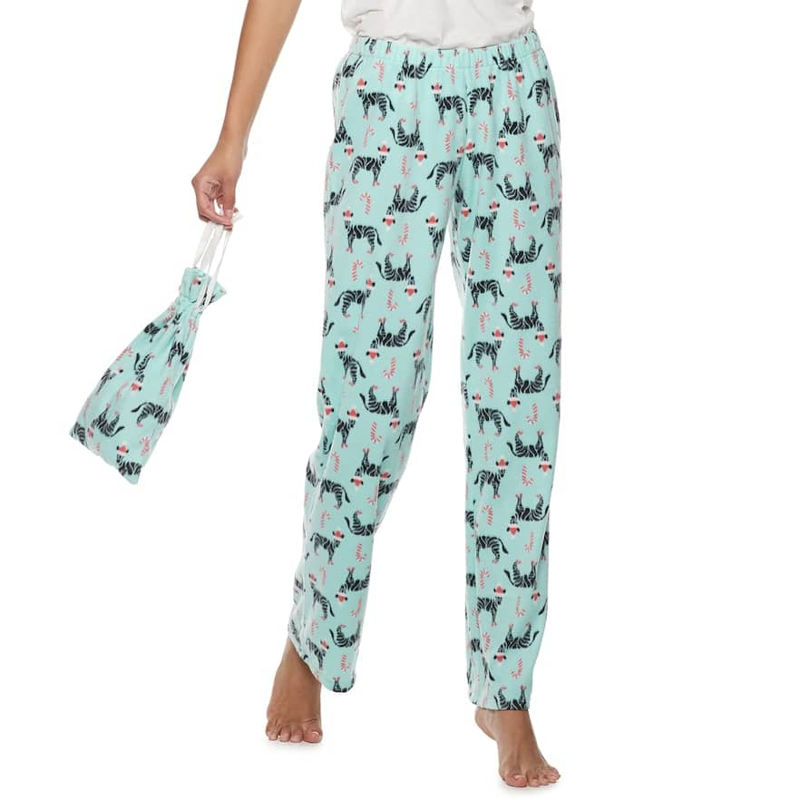 f33c55679d5 SO Juniors  Fleece Pajama Pants in a Bag (various colors ...