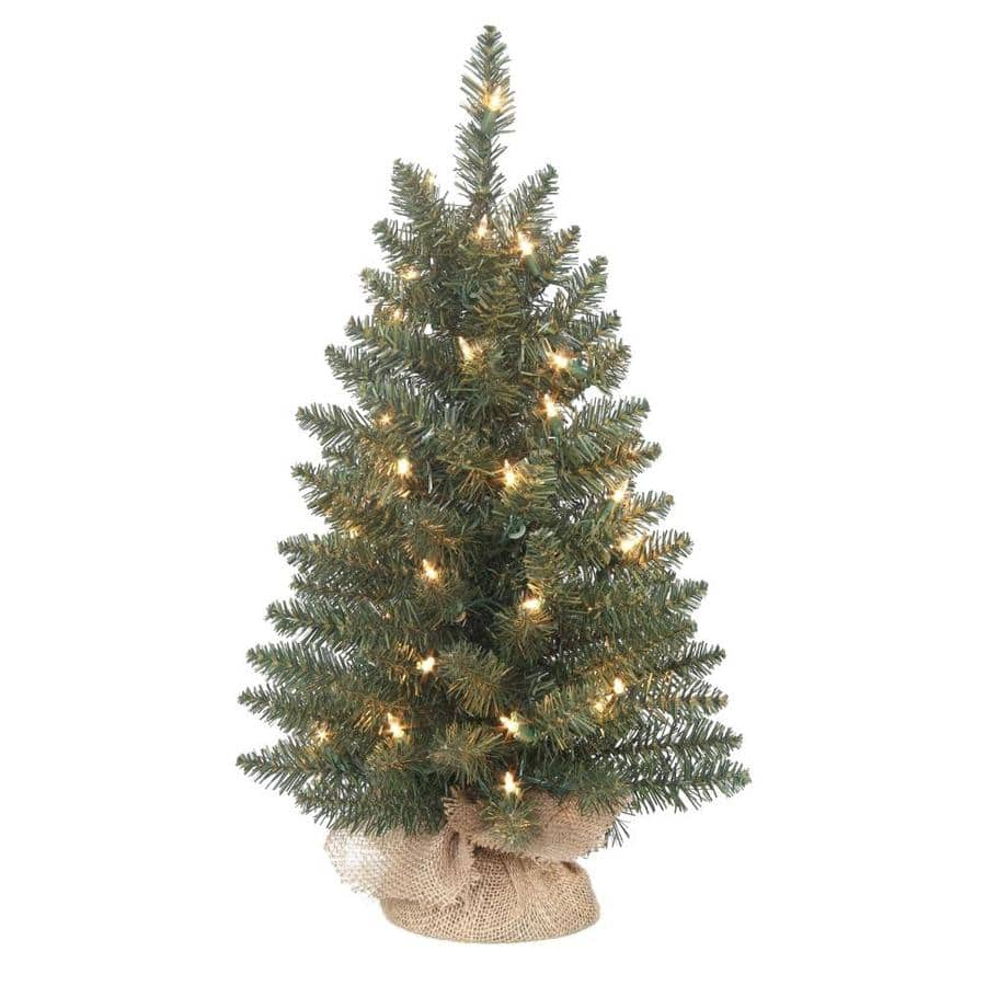 "24"" Pre-Lit Tabletop Artificial Christmas Tree $3.75 at ..."
