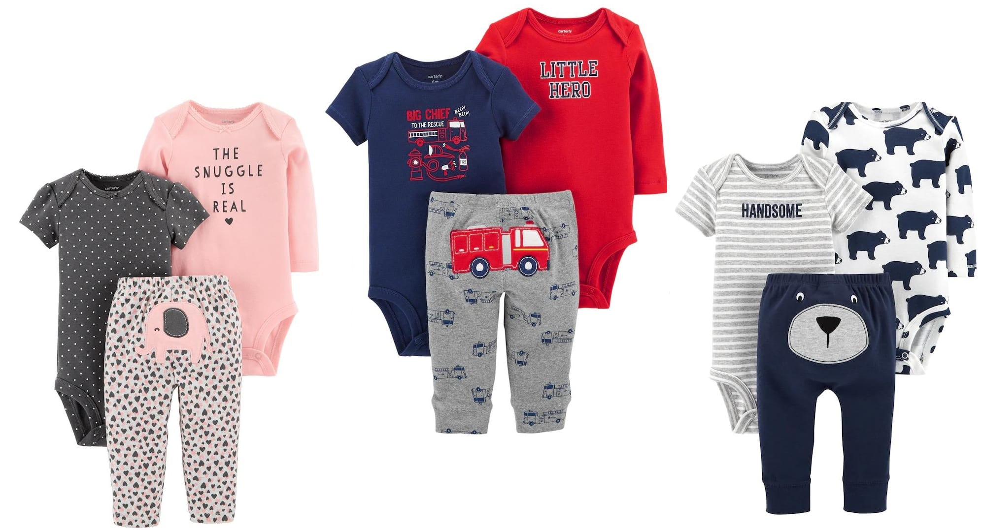 1e9f7fd9fc977 Kohl's Cardholders: Baby Carter's 3-Piece Outfits - Slickdeals.net