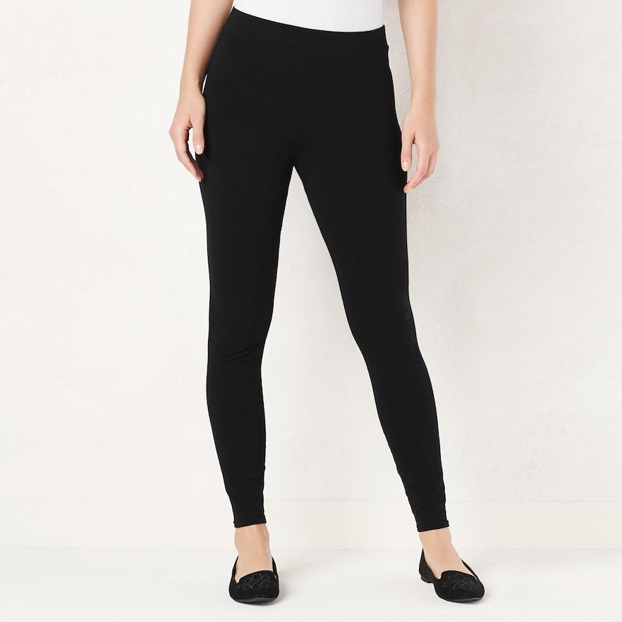 LC Lauren Conrad Women's Leggings $5.60 + Free Shipping **Kohl's Cardholders**