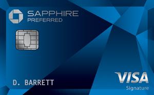 Chase Sapphire Preferred® Card. 60,000 Bonus Points w/ $4K Spent in 1st 3-months