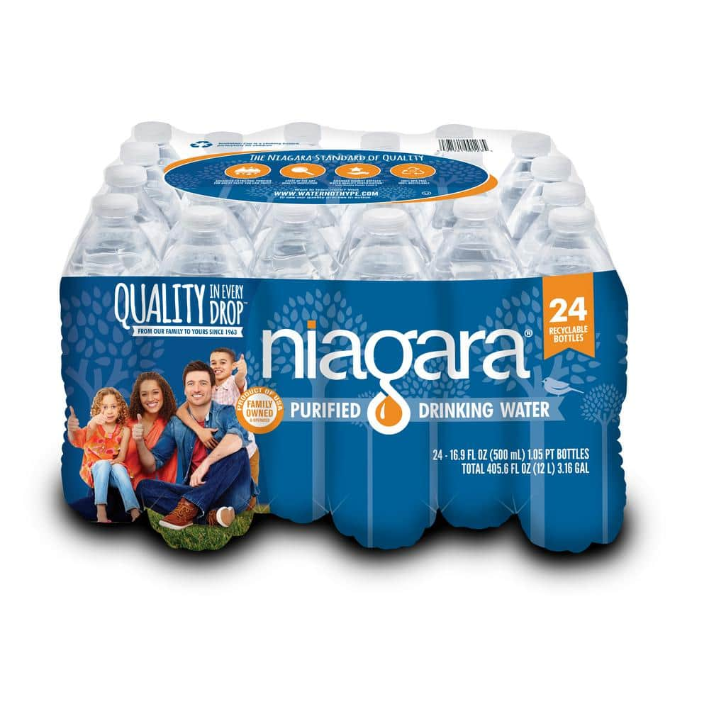 24-Pack of Niagara 16.9-oz Purified Drinking Water $1.98 at Home Depot *In-Store Only*