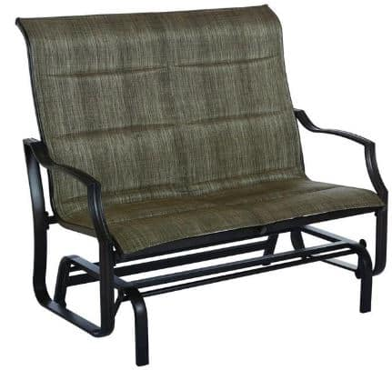 Hampton Bay Metal Outdoor Patio Double Glider $167 + Free Shipping (40% off today only)