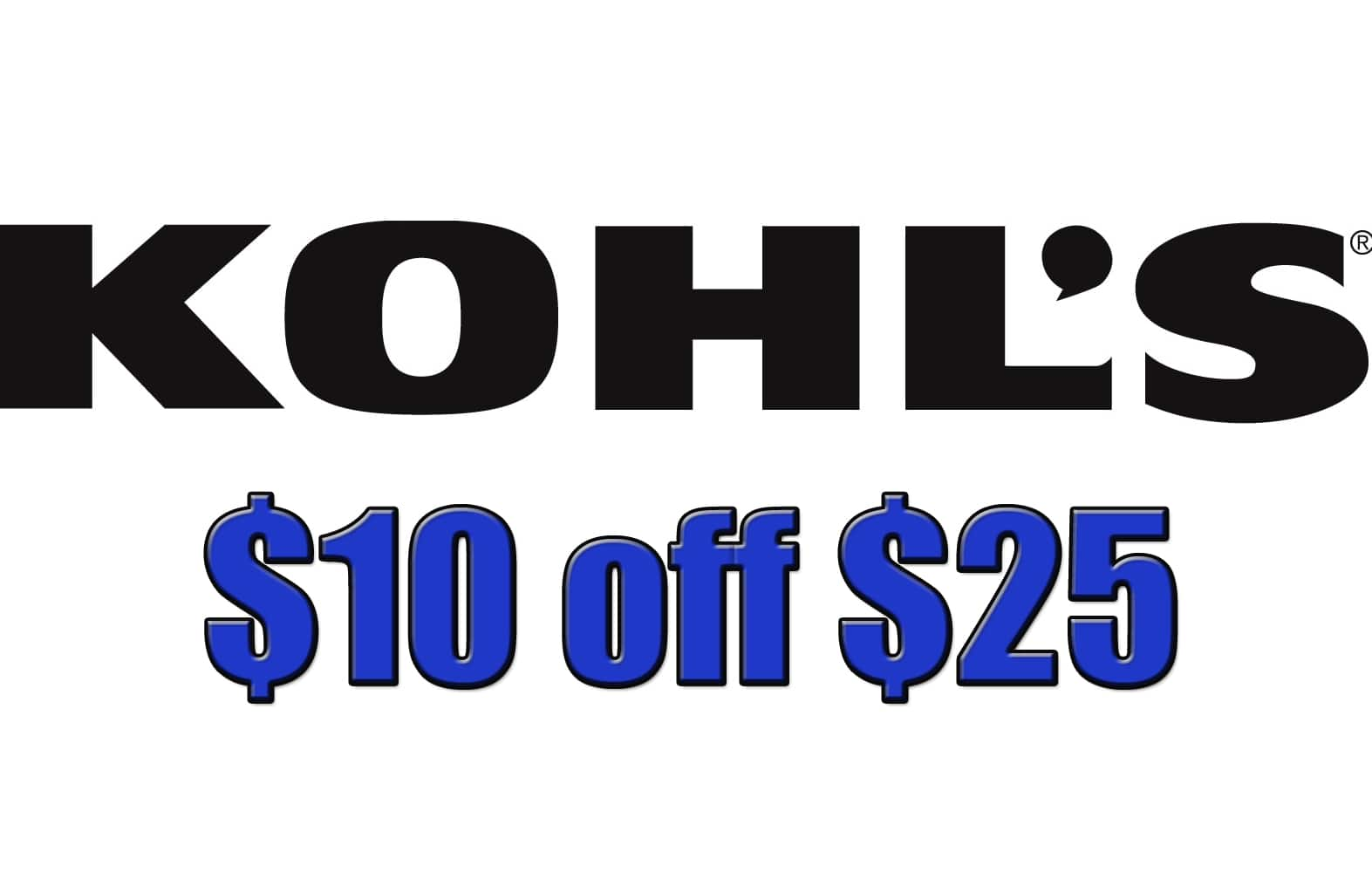 picture relating to Kohls Coupons Printable titled Kohls Coupon for Even more Financial savings + $5 Kohls Dollars upon $25
