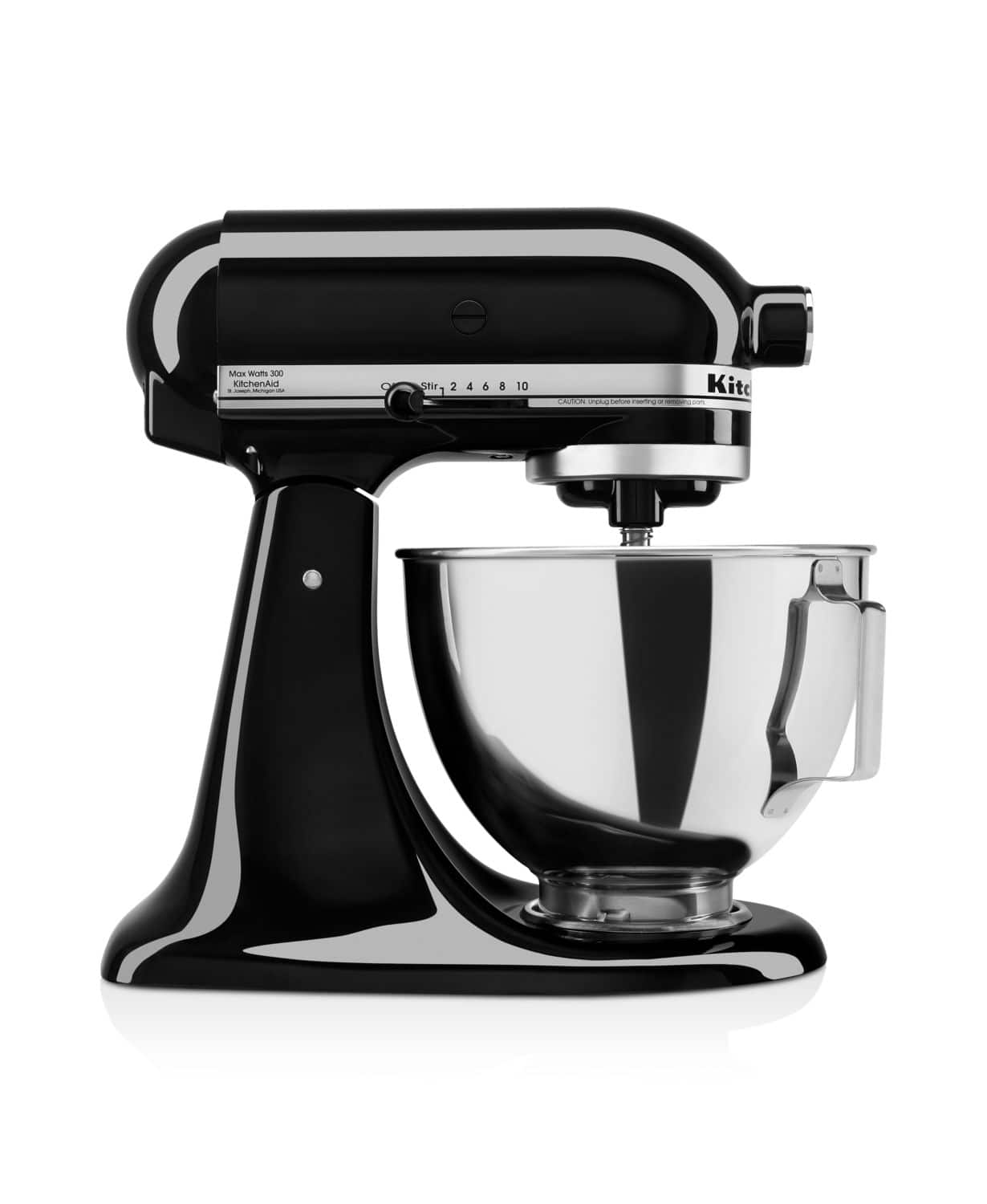 KitchenAid 4.5-Quart 10-Speed Tilt-Head Stand Mixer (Onyx ...