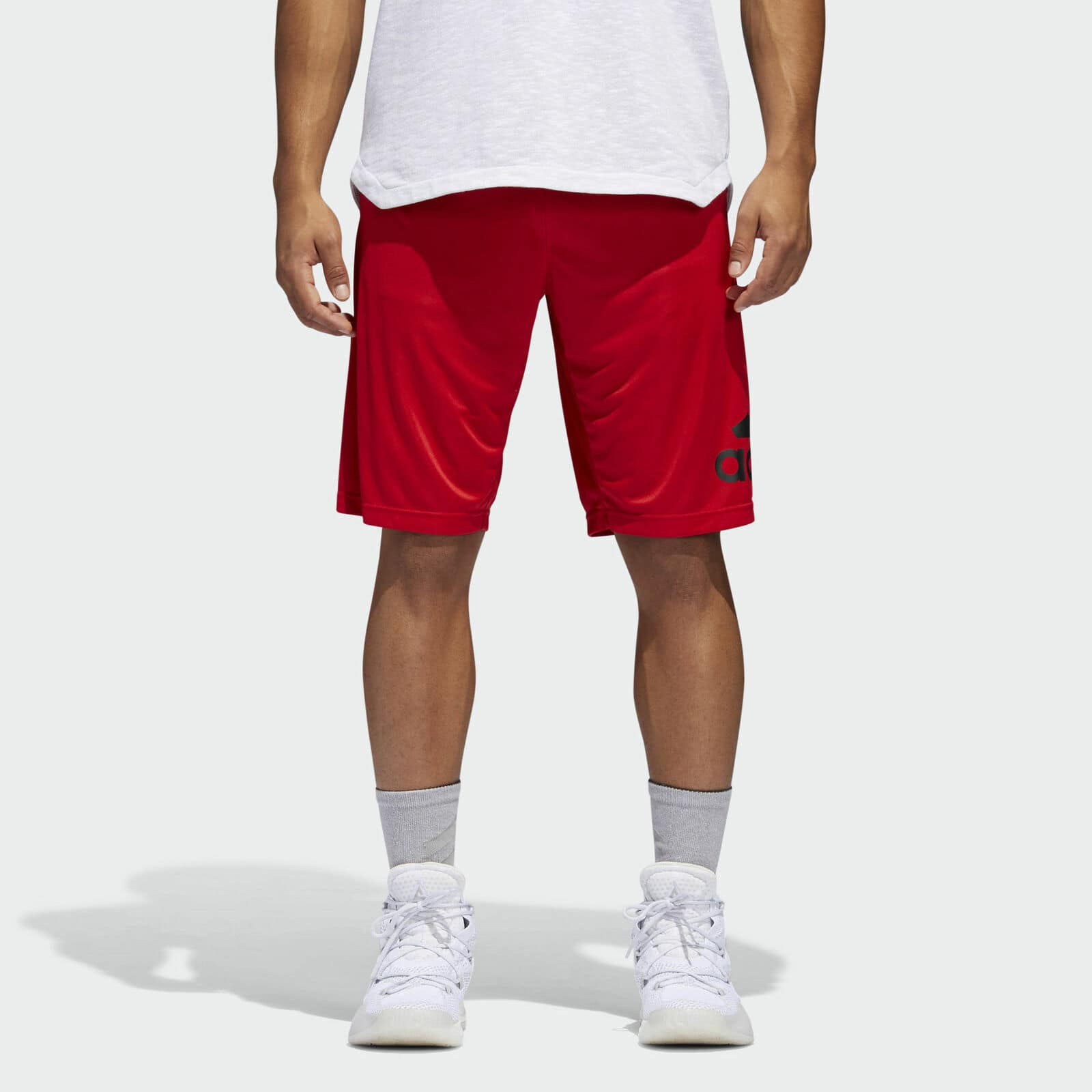 adidas Crazylight Men's Shorts (Scarlet): 2 for $22.50 or adidas Ultimate Men's 2.0 Tee: 2 for $19.50 + Free Shipping