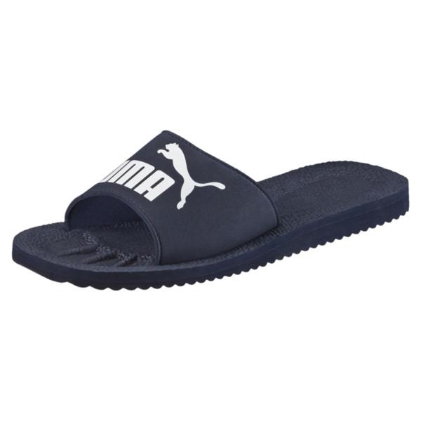 PUMA Men's Purecat Slides (black or navy) for $12 + Free Shipping