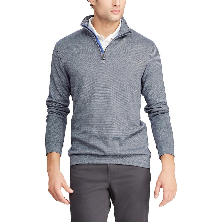 Chaps Men's Quarter-Zip Pullover: 3 for $39 + Free Ship **Kohls Cardholders**
