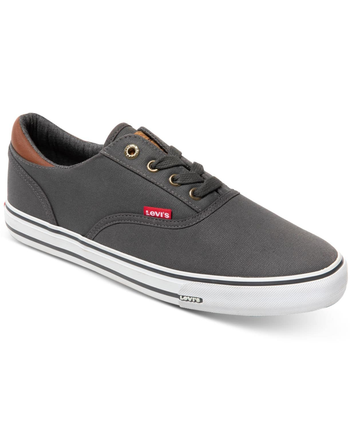 Levi's Men's Ethan Canvas II Sneakers $19.99 at Macy's (most colors up to size 11, but Red has sizes 12 & 13 too)