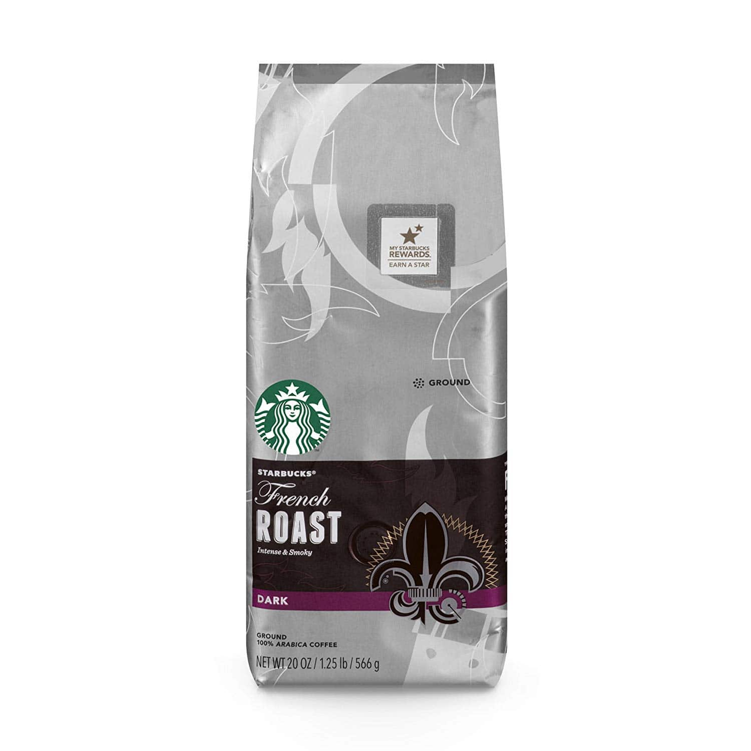 20-oz Starbucks French Roast Dark Roast Ground Coffee $7.59 w/ 5% S&S or $6.79 w/ 15% S&S at Amazon