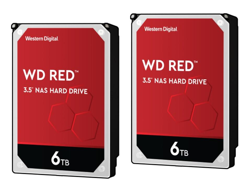 2x WD Red 6TB NAS Hard Drives $279.98 at Newegg