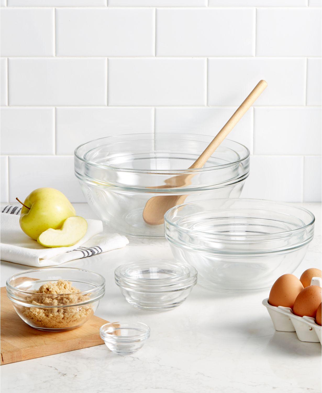 10-Piece Glass Mixing Bowl Set by Martha Stewart $22.99 + Free Shipping