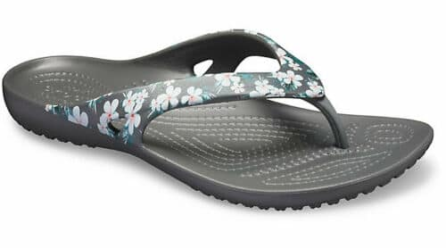 Crocs Womens Kadee II Graphic Flip $14, Crocs Kids Keeley Charm Flat $12.60, Mens Swiftwater Deck Flip in Tan $16.49, Unisex Athens Flip $19.99 + Free Ship (Extra 15% off 2-Pairs)