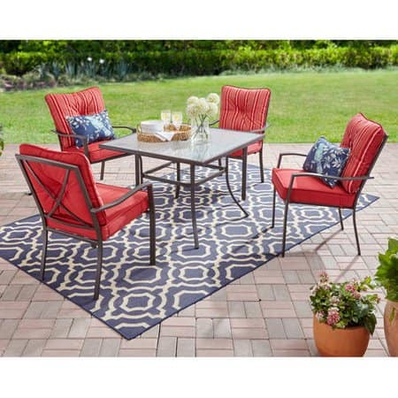 Mainstays 7 Piece Outdoor Dining Set