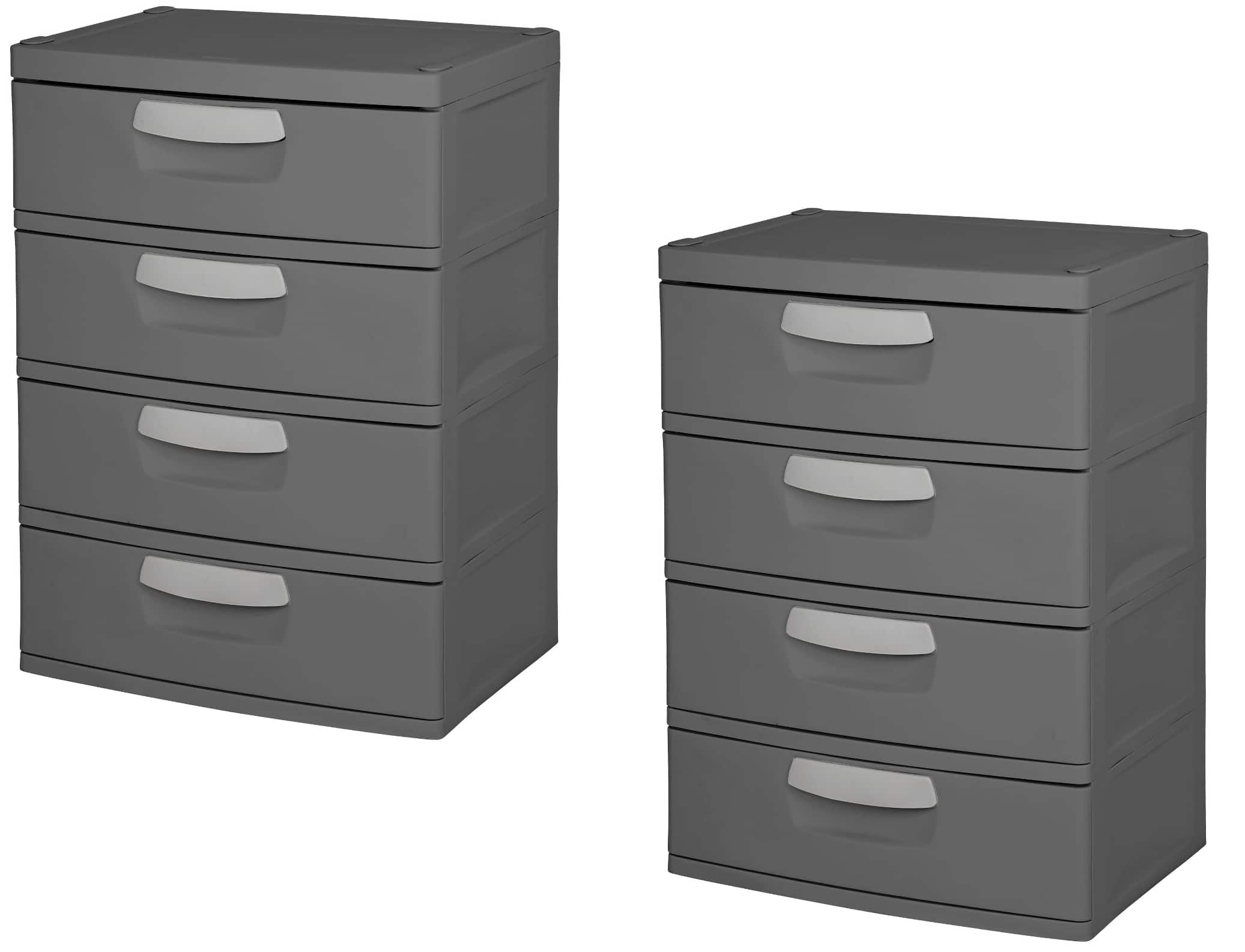 Sterilite 4 Drawer Garage And Utility Storage Unit Slickdeals Net