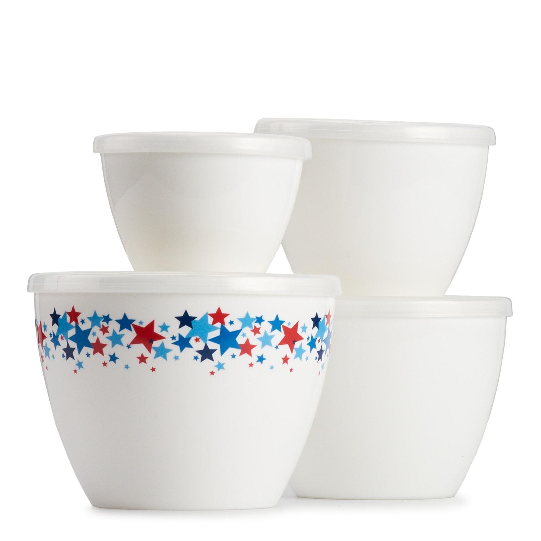 4-Pack Prep/Storage Bowls w/ Lids $4.19 shipped *Kohl's Cardholders*