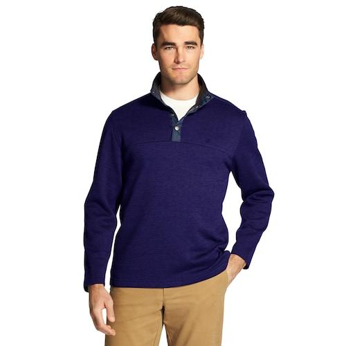 Men's IZOD Spectator Fleece Snap-Front Pullover: 3 for $37 + Free Shipping **Kohl's Cardholders**