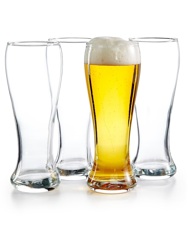 4-Piece Luminarc Craftbrew Pub Pilsner Glass Set $10.49, 4-Piece Sport Mug Set $10.49 at Macy's (in-store pick up)