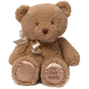Baby GUND My 1st Teddy Bear $6.50, GUND World's Cutest Dog Boo Itty Bitty Boo $7, GUND White Cat Plush $7.80 & More at Amazon