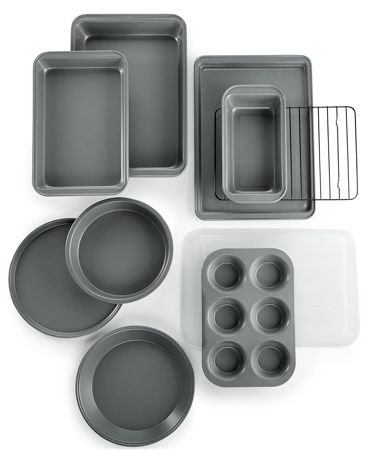 10-Piece Martha Stewart Essentials Non-Stick Bakeware Set for $19.99 at Macy's (Pick-up or Free SH on $25+)