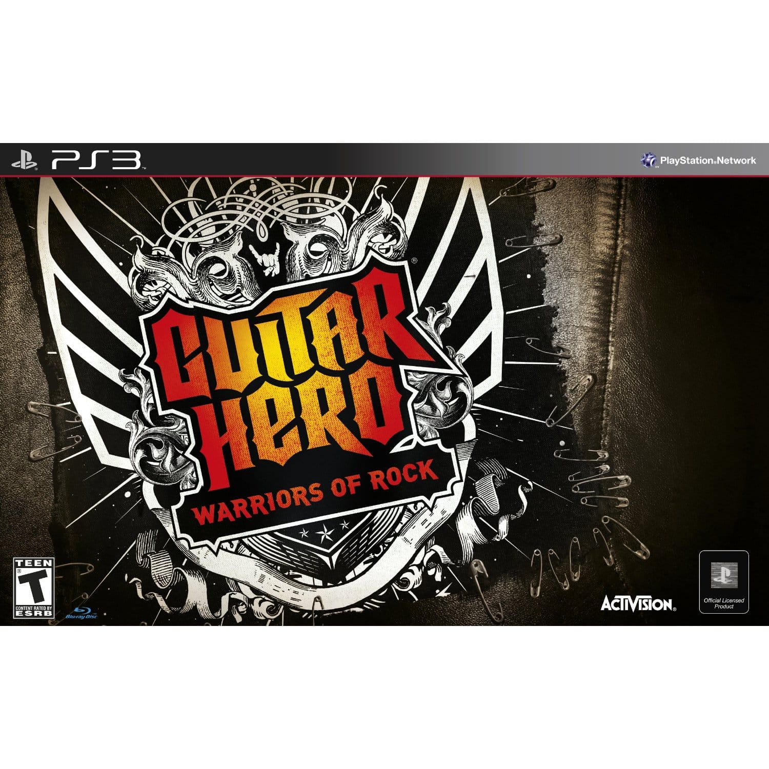 Guitar Hero: Warriors of Rock Bundle (PS3 or Xbox 360) $30 + Free In-store Pick Up