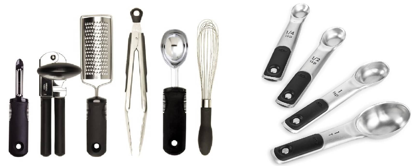 Oxo Good Grip 6 Piece Kitchen Essentials Set 4 Piece Magnetic