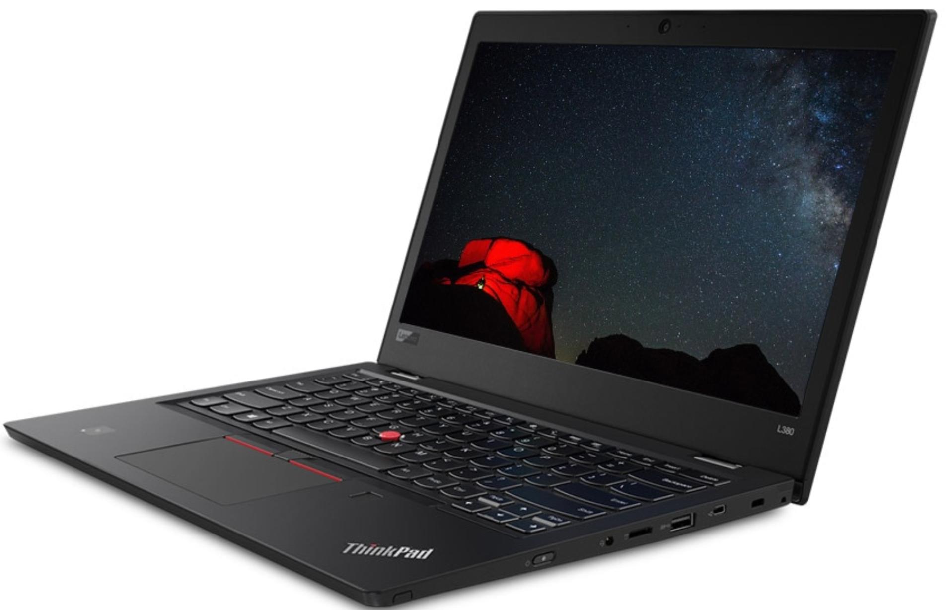 Lenovo Thinkpad L380: 13.3\'\' FHD IPS, i5-8250U, 8GB DDR4, 256GB SSD, Win10 Pro