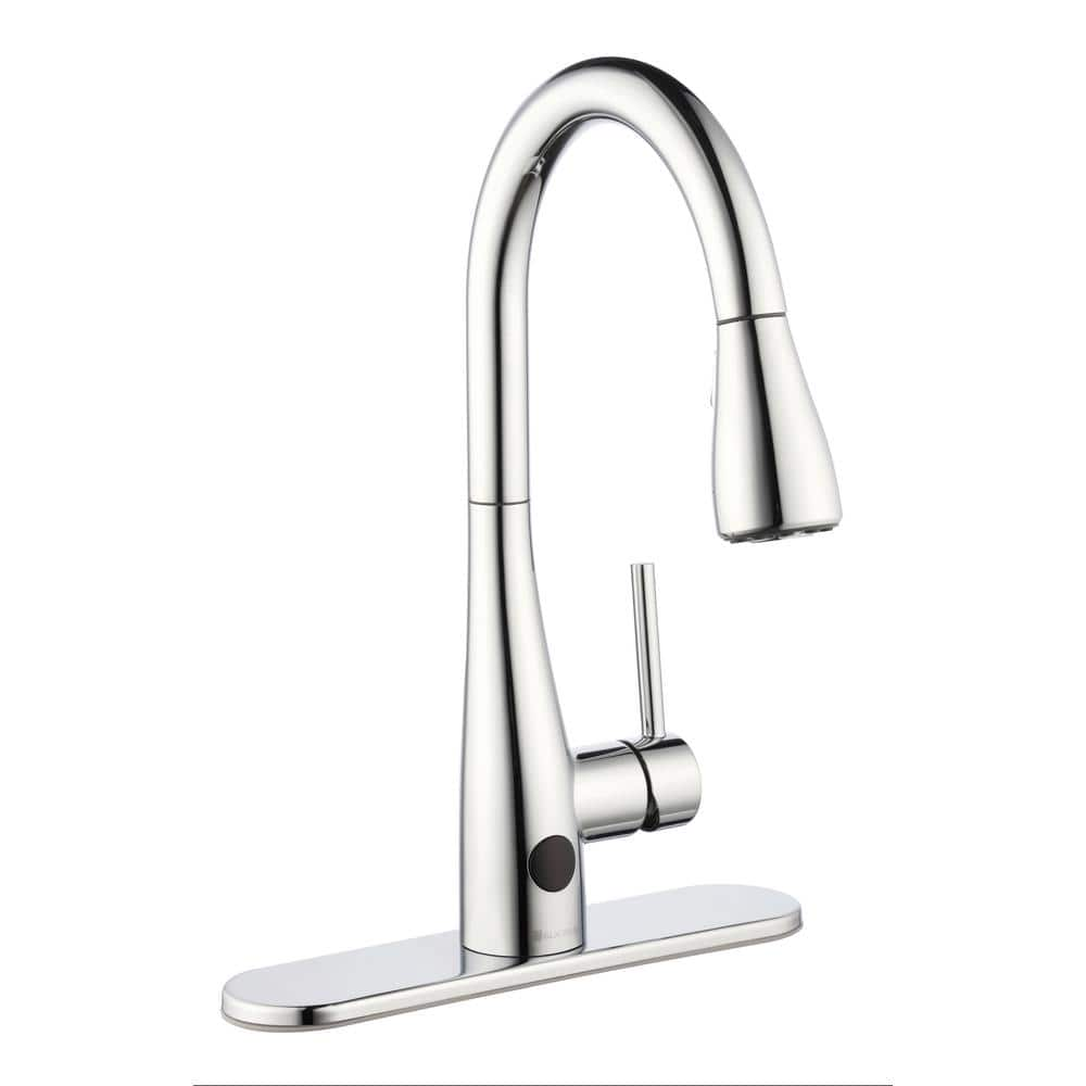 Touchless Faucet: Glacier Bay Nottely Touchless Kitchen Faucet w/ Pull-Down Sprayer in Chrome $99 + Free Shipping