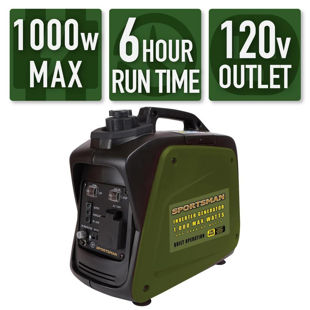 Generators: Sportsman 1,000/800-Watt Gasoline Powered Digital Inverter Generator $149 and more + Free Shipping