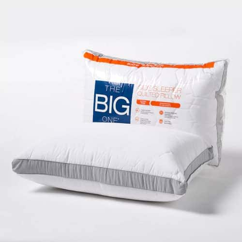 The Big One Quilted Side-Sleeper Pillow $6.99, Stomach Sleeper Pillow $6.99 + Free Shipping *Kohl's Cardholders*
