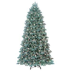 GE 7.5' Blue Noble Fir Pre-lit Artificial Christmas Tree with Clear Lights $75, GE 25 LED G35 Color Changing Christmas Light Show $25, 8' Airblown Christmas Santa with Star or Snow