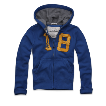 $15 Abercrombie & Fitch Kids Hoodies for Boys or Girls - Free Shipping