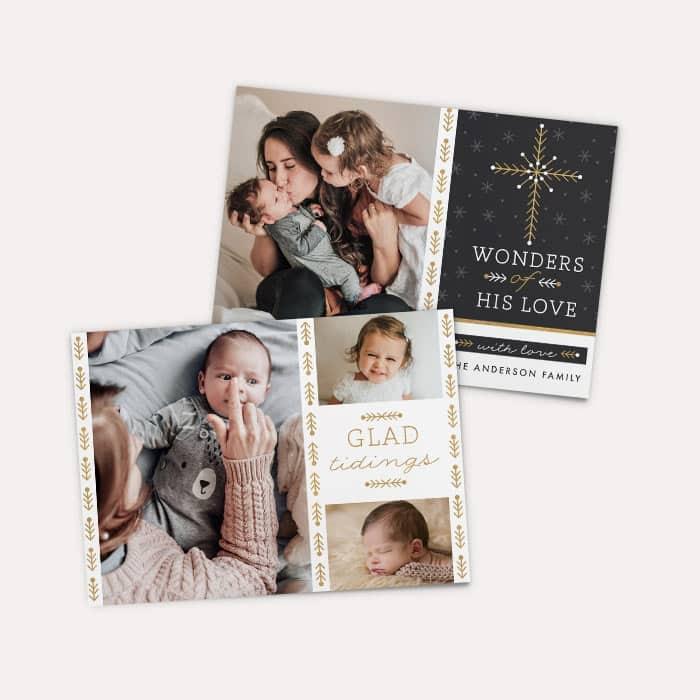 Walgreens Photo Set Of 6 Customized 5 X7 Photo Cards
