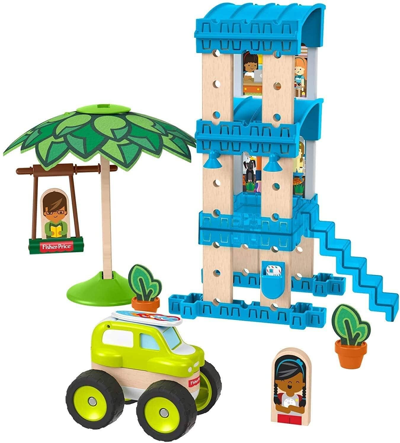 Fisher-Price Wonder Makers Sets: Beach Bungalow $6.40, Special Delivery Depot $7.70 at Amazon