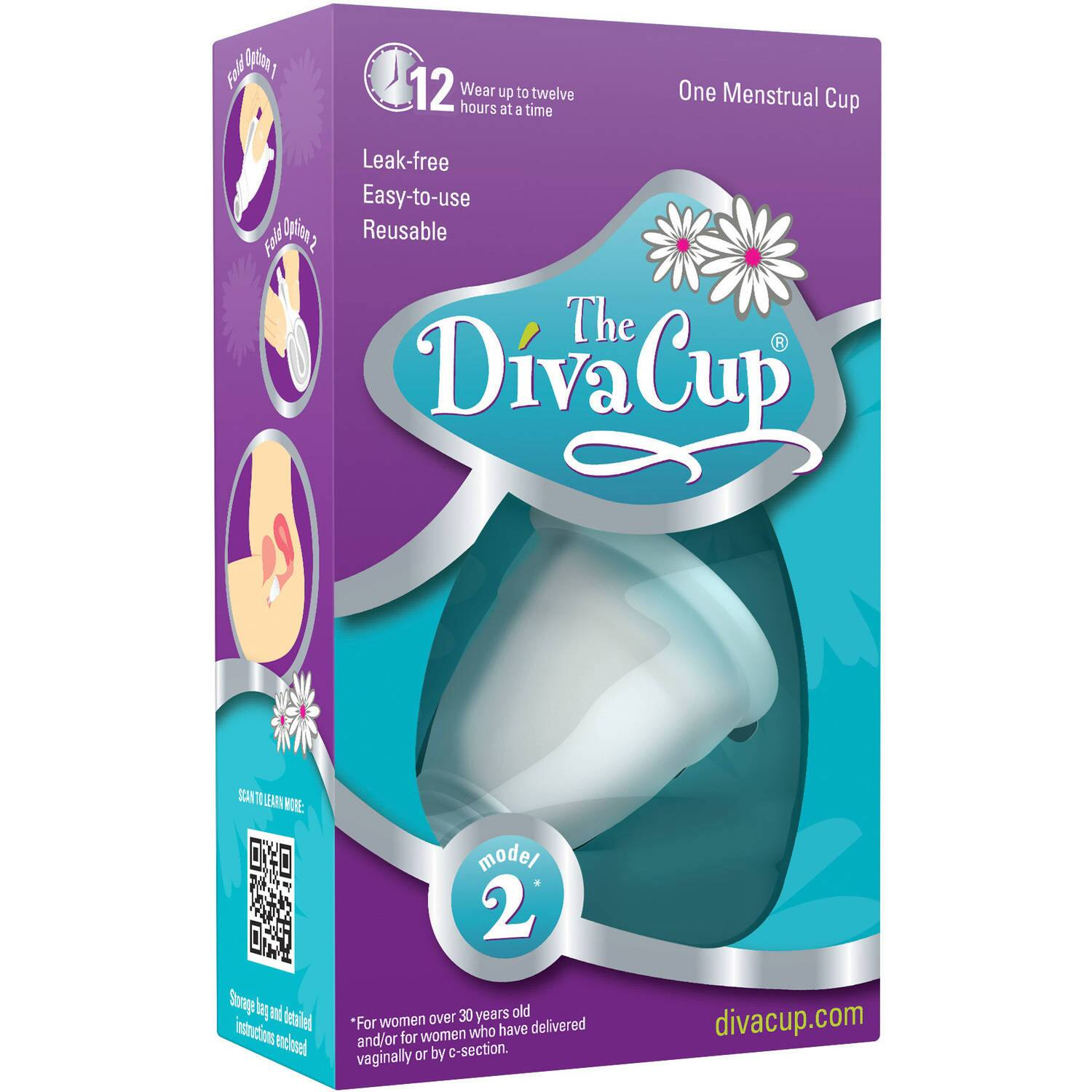 Diva Cup, Model 2, $12.94 Free Shipping - Sold by Harrisburg Store through Wal-Mart