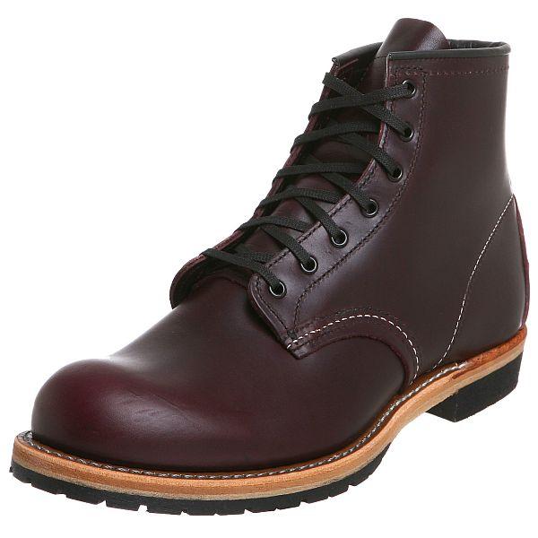 "Red Wing Men's Heritage Beckman Round 6"" Boot (Black Cherry Various Sizes) Amazon $241.45"