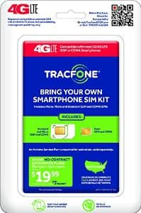 TracFone BYOP No Contract Phone Activation Kit - $1.99 - Amazon.com