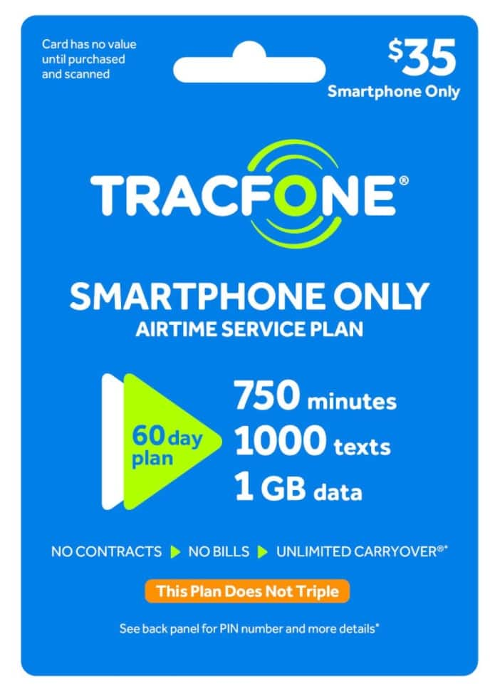 Crazy Tracfone deal for smartphones - Target.com $35