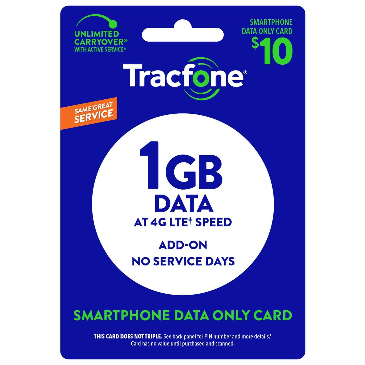 Tracfone data deal - Target com - $10 (or less) for 1 5GB